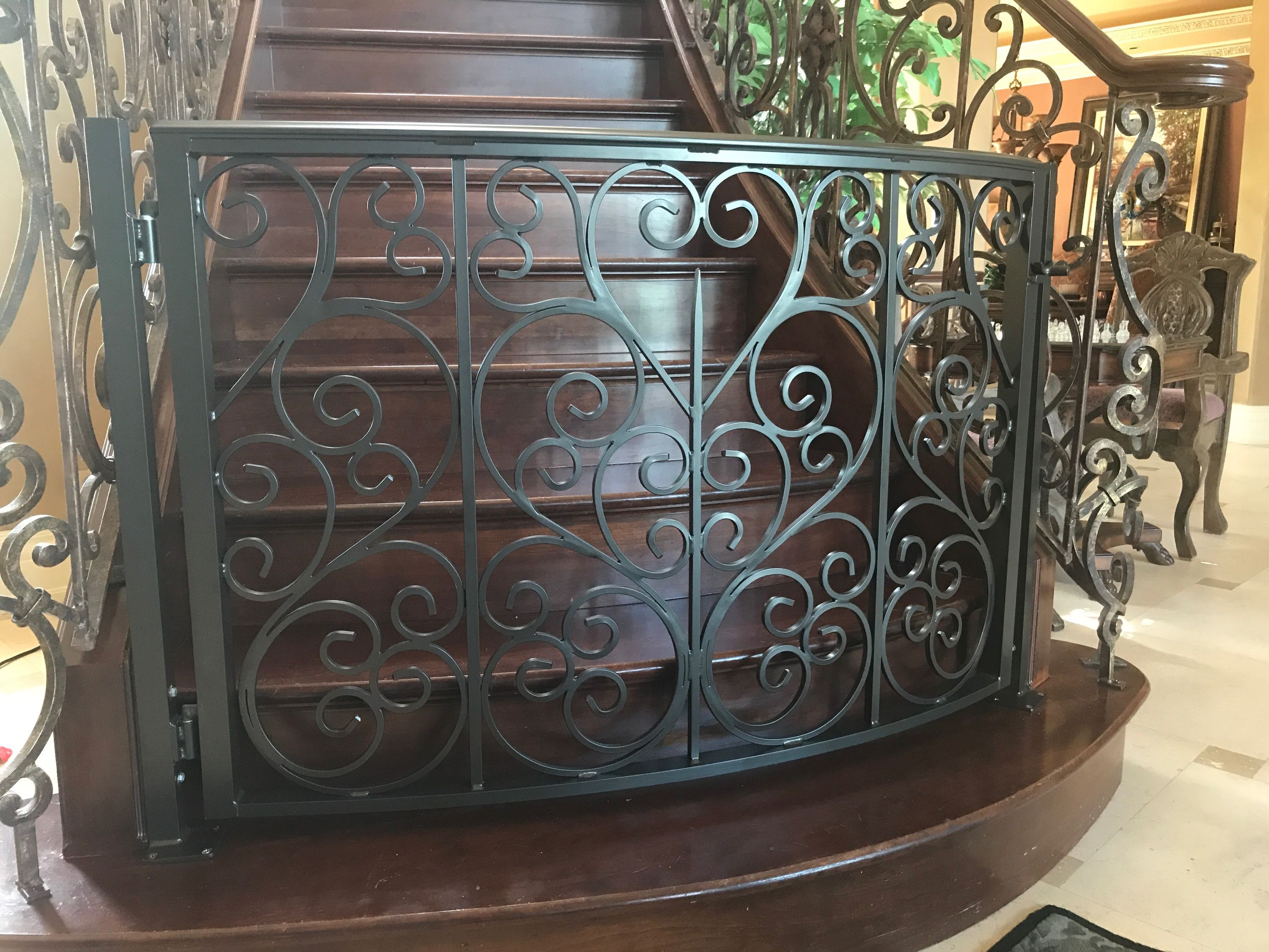 Decorative Spiral & Railings