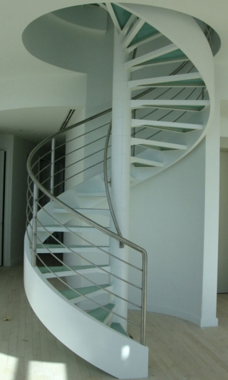 Commercial Spiral Stairs Model 201