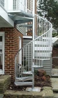 Commercial Spiral Stairs Model 175