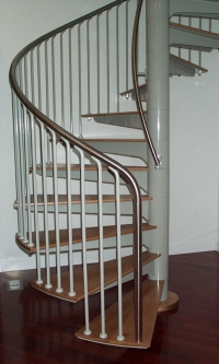 Commercial Spiral Stairs Model 135 & 141