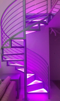 Commercial Spiral Stairs Model 220